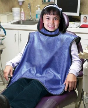 Pediatric Dental Guard w/Sewn in Collar - Feather