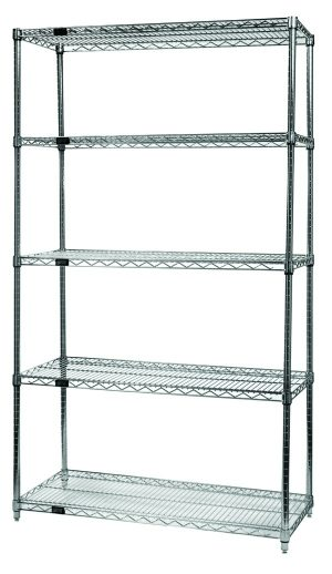 Wire Storage - Five Shelf Wire Stationary Rack